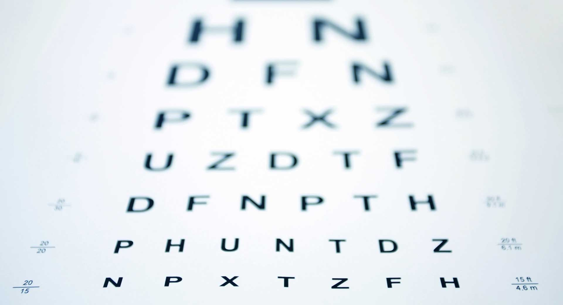 Eye Test Screening